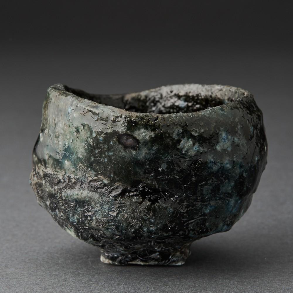 引出黒酒呑(今西公彦)Black Sake Cup(Masahiko Imanish)