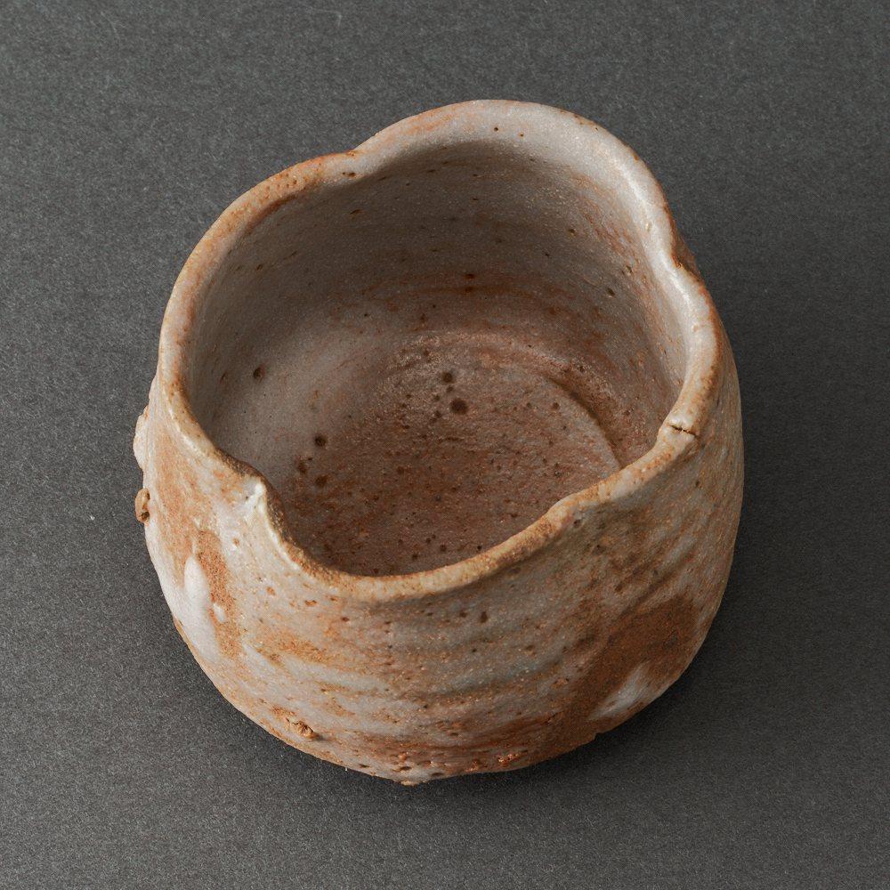 志野ぐい呑(辻村史朗)Shino Sake Cup(Shiro Tsujimura)