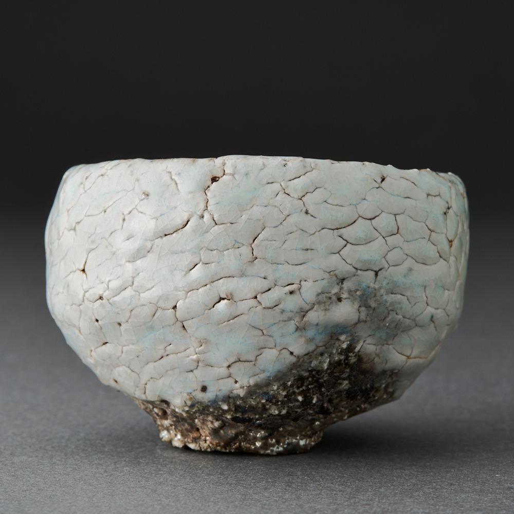 白丹波酒呑(今西公彦)White Tanba Sake Cup(Masahiko Imanish)