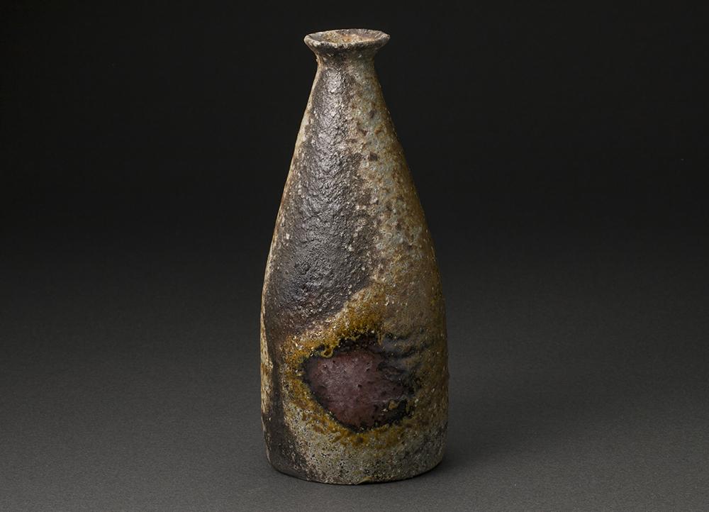 丹波辣韭徳利(今西公彦)Tanba Sake Bottle(Masahiko Imanishi)