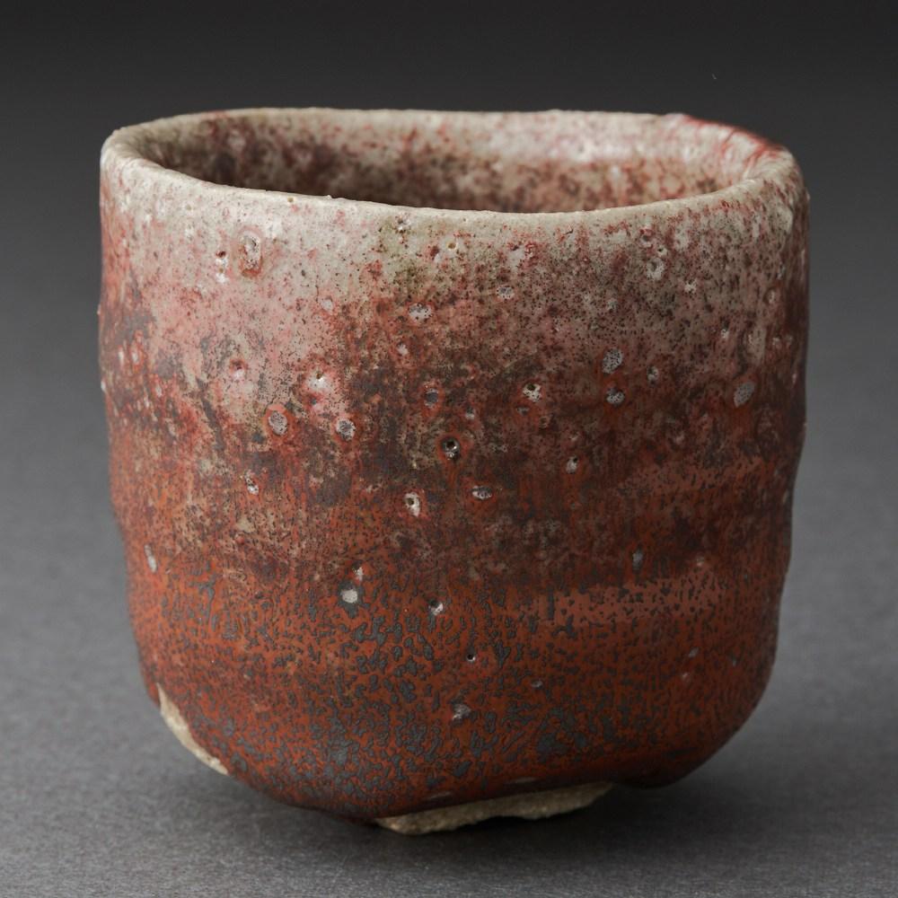 辰砂酒呑(今西公彦)Tanba Sake Cup(Masahiko Imanishi)