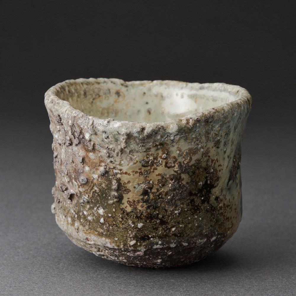 朝鮮唐津ぐい呑(田中孝太)Karatsu Sake Cup(Kouta Tanaka)