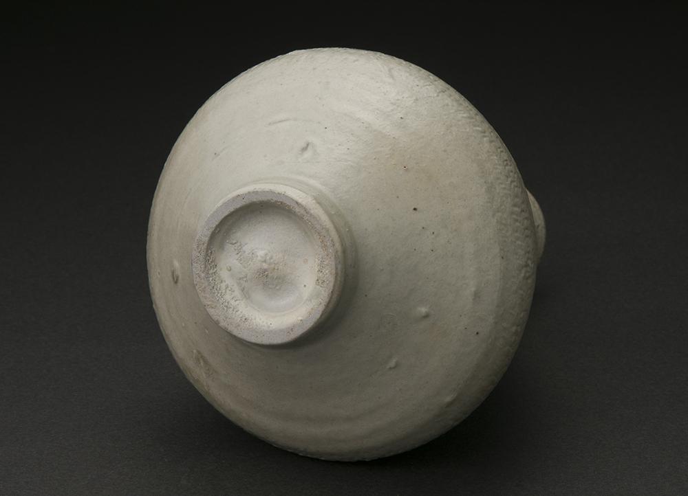 粉青砂器花入(梶原靖元)Mishima Style Flower Vase(Yasumoto Kajihara)