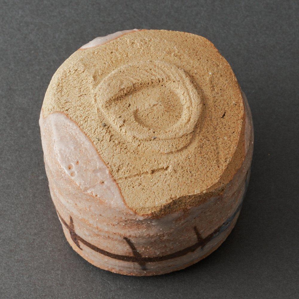 志野ぐい呑(辻村塊)Shino Sake Cup(Kai Tsujimura)