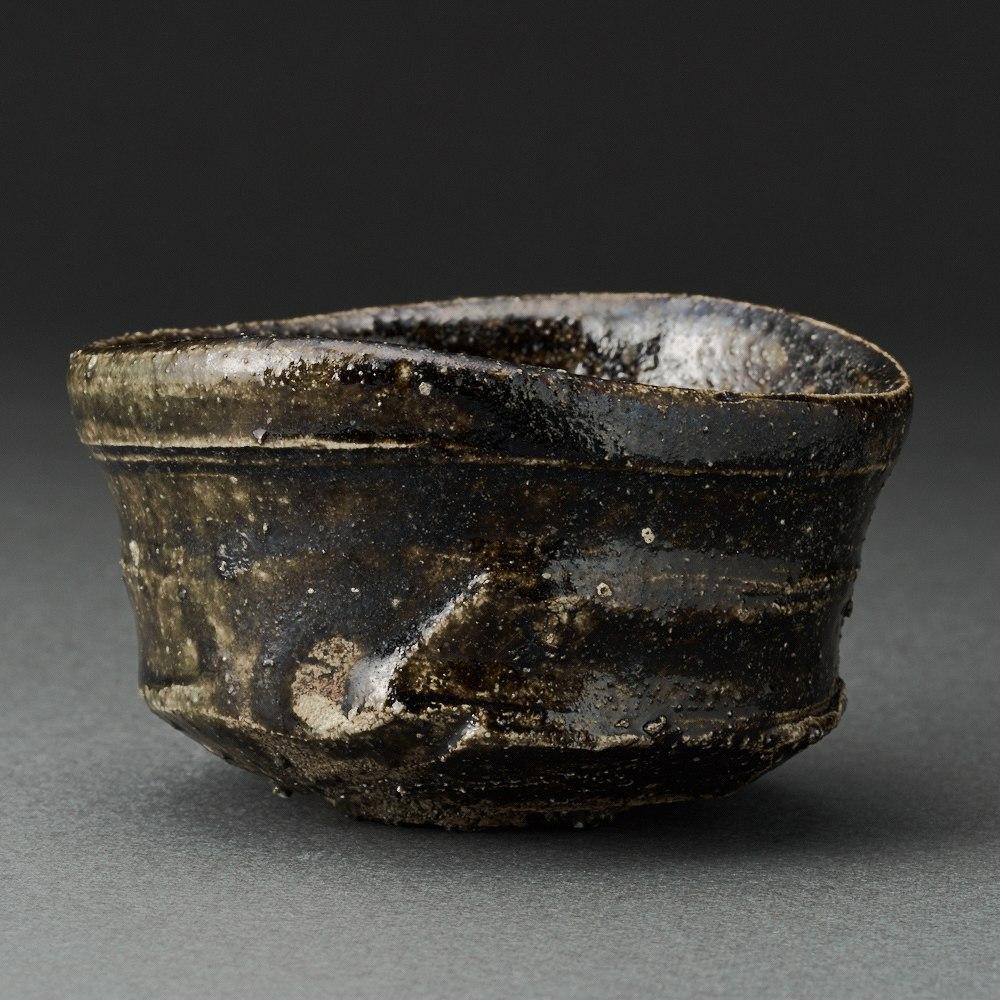 織部ぐい呑(辻村塊)Oribe Sake Cup(Kai Tsujimura)