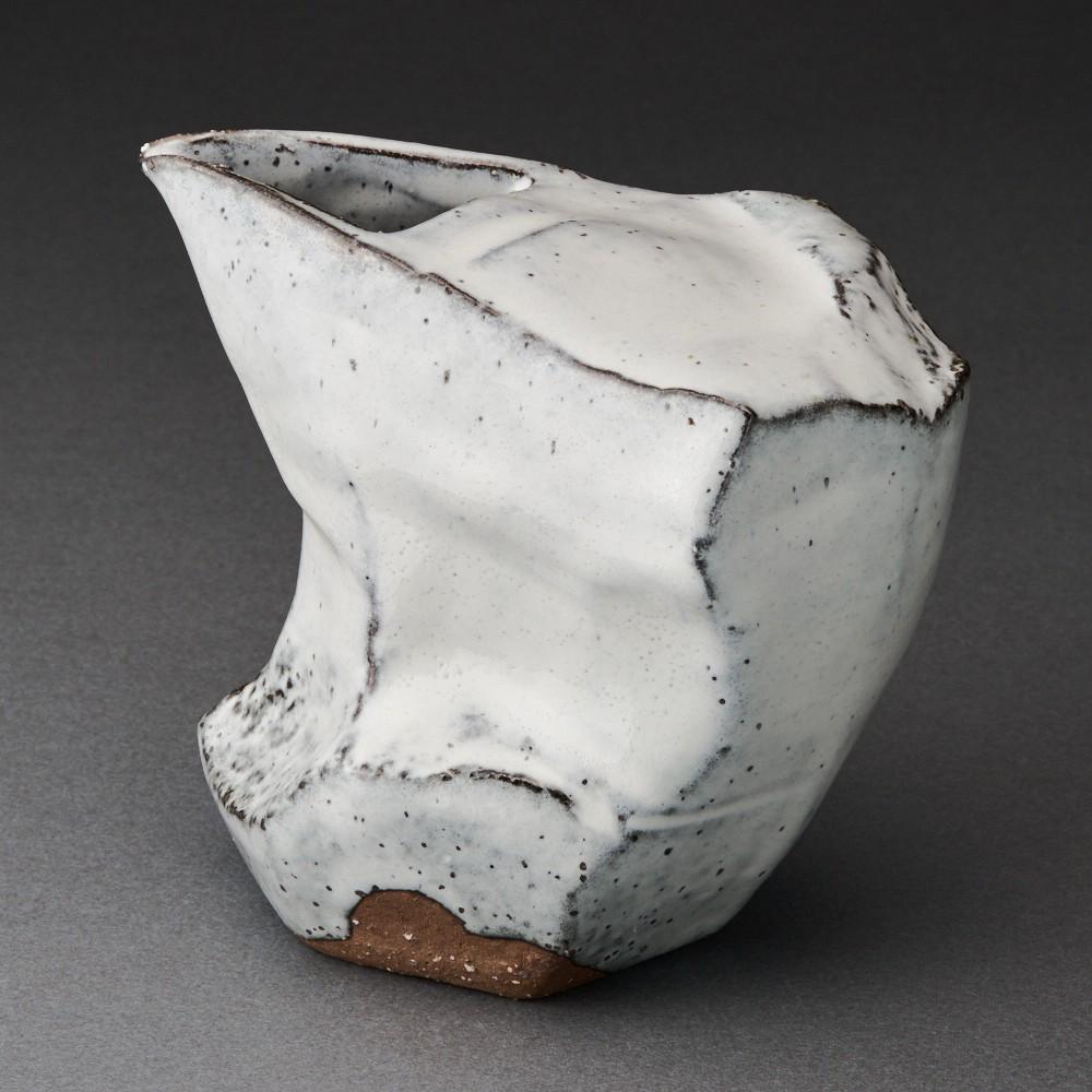 萩刳貫注器(兼田昌尚)Hagi Sake Carafe(Masanao Kaneta)