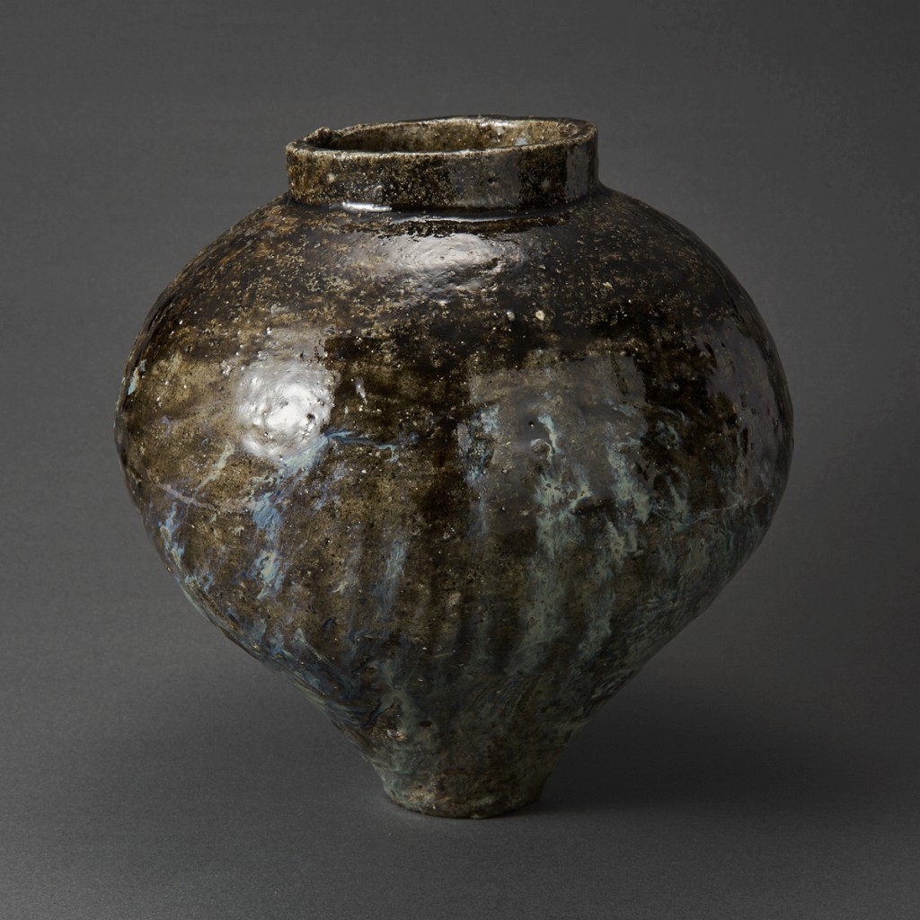 朝鮮唐津壺(丸田宗彦)Karatsu Pot(Munehiko Maruta)