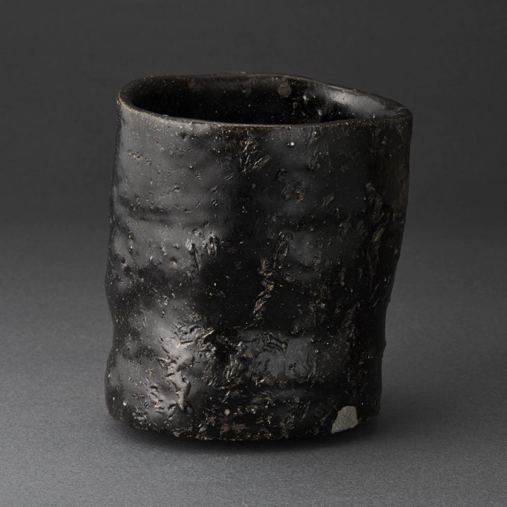 唐津黒茶碗(丸田宗彦)Karatsu Tea Bowl(Munehiko Maruta)