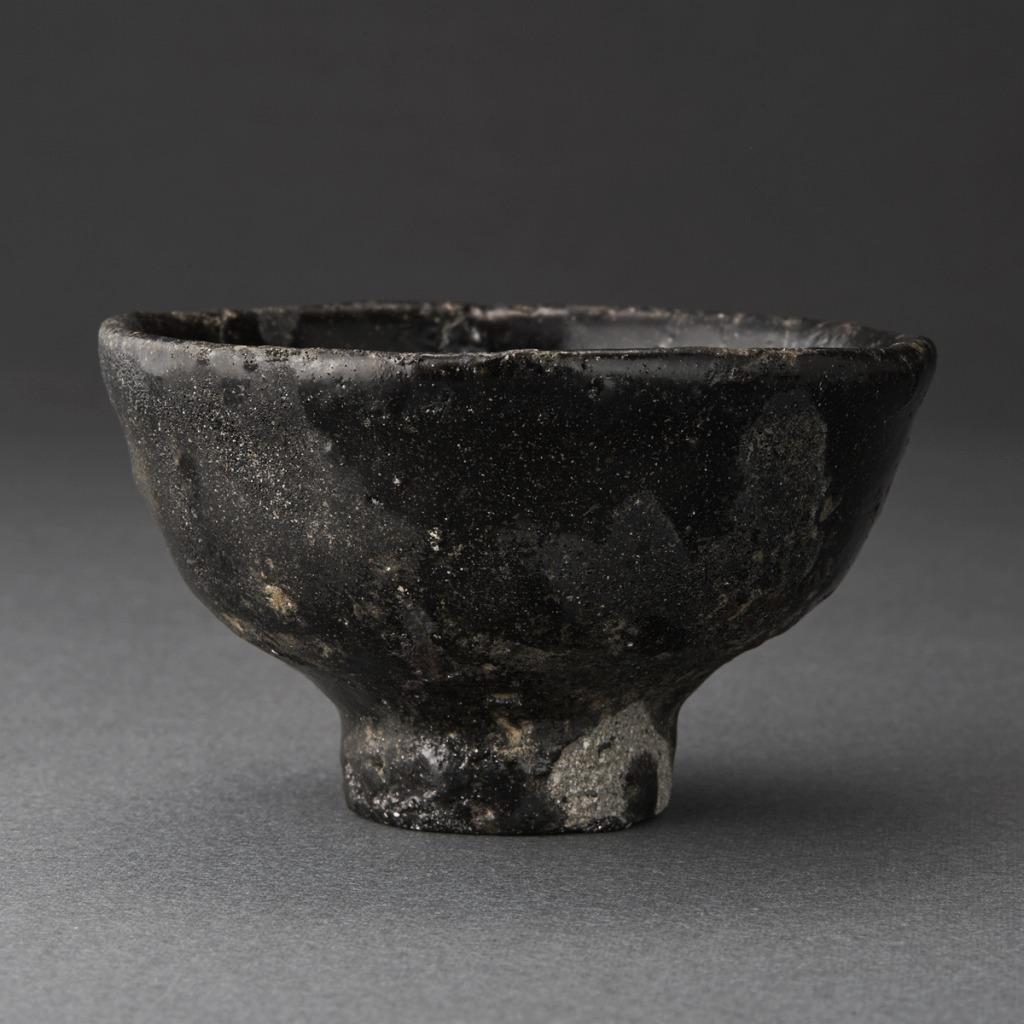 井戸黒ぐい呑(丸田宗彦)Ido Sake Cup(Munehiko Maruta)