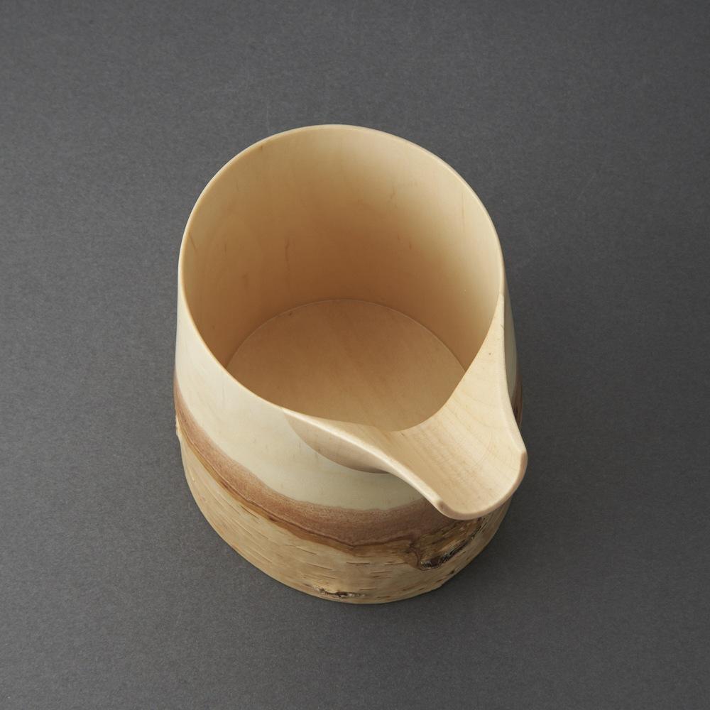 白樺片口(福永浩太)White birch Sake Carafe(Kouta Fukunaga)