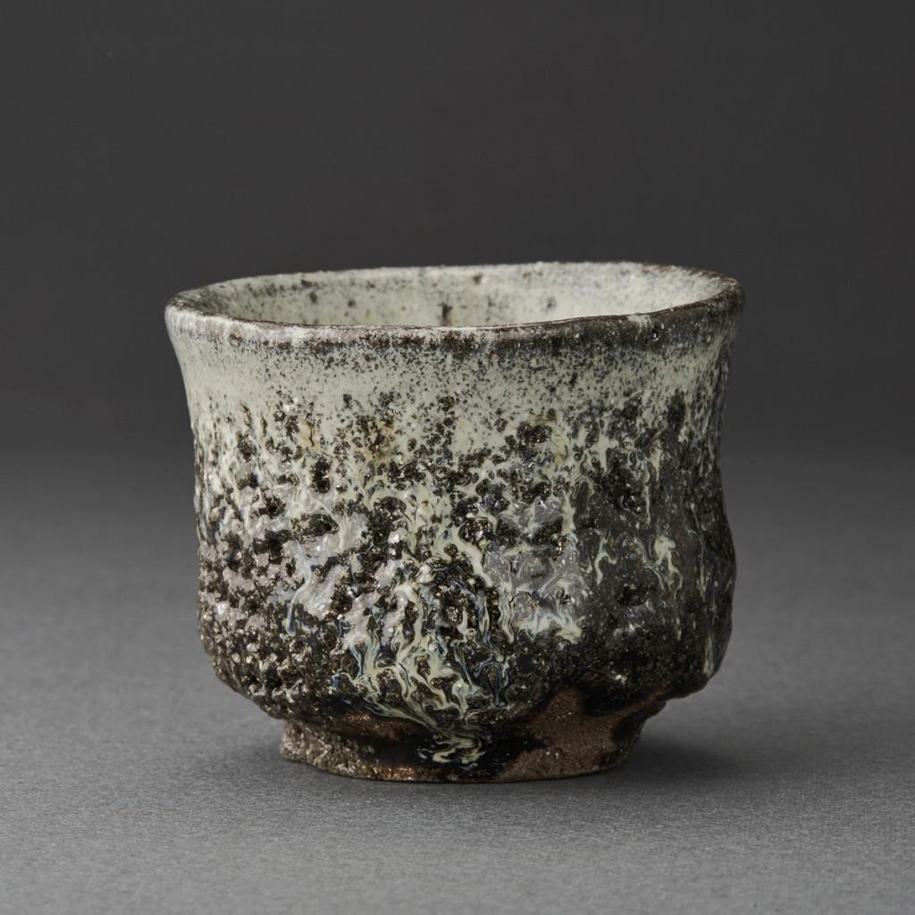 朝鮮唐津ぐい呑(丸田宗彦)Karatsu Sake Cup(Munehiko Maruta)