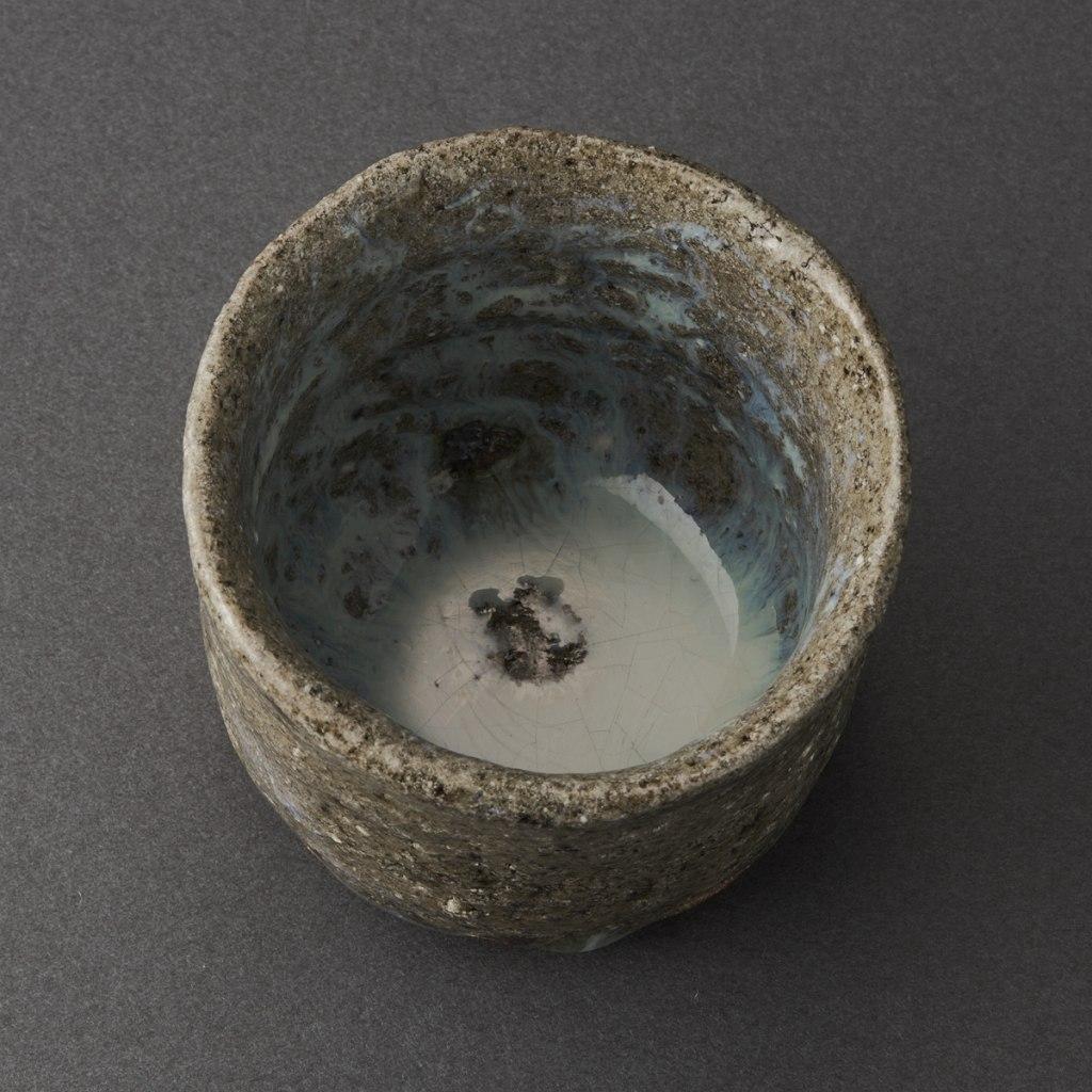 斑唐津ぐい呑(丸田宗彦)Karatsu Sake Cup(Munehiko Maruta)
