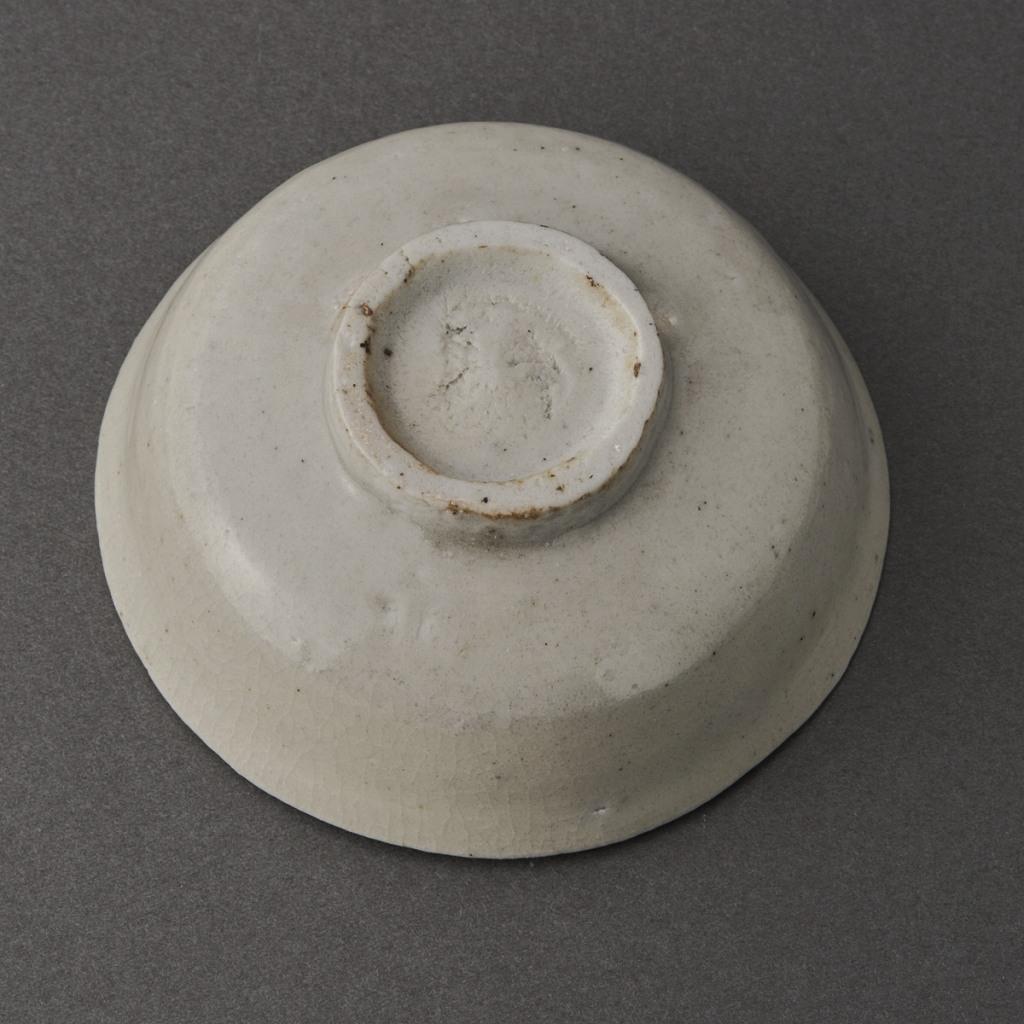 白磁平盃(丸田宗一廊)White Porcelain Sake Cup(Soichiro Maruta)