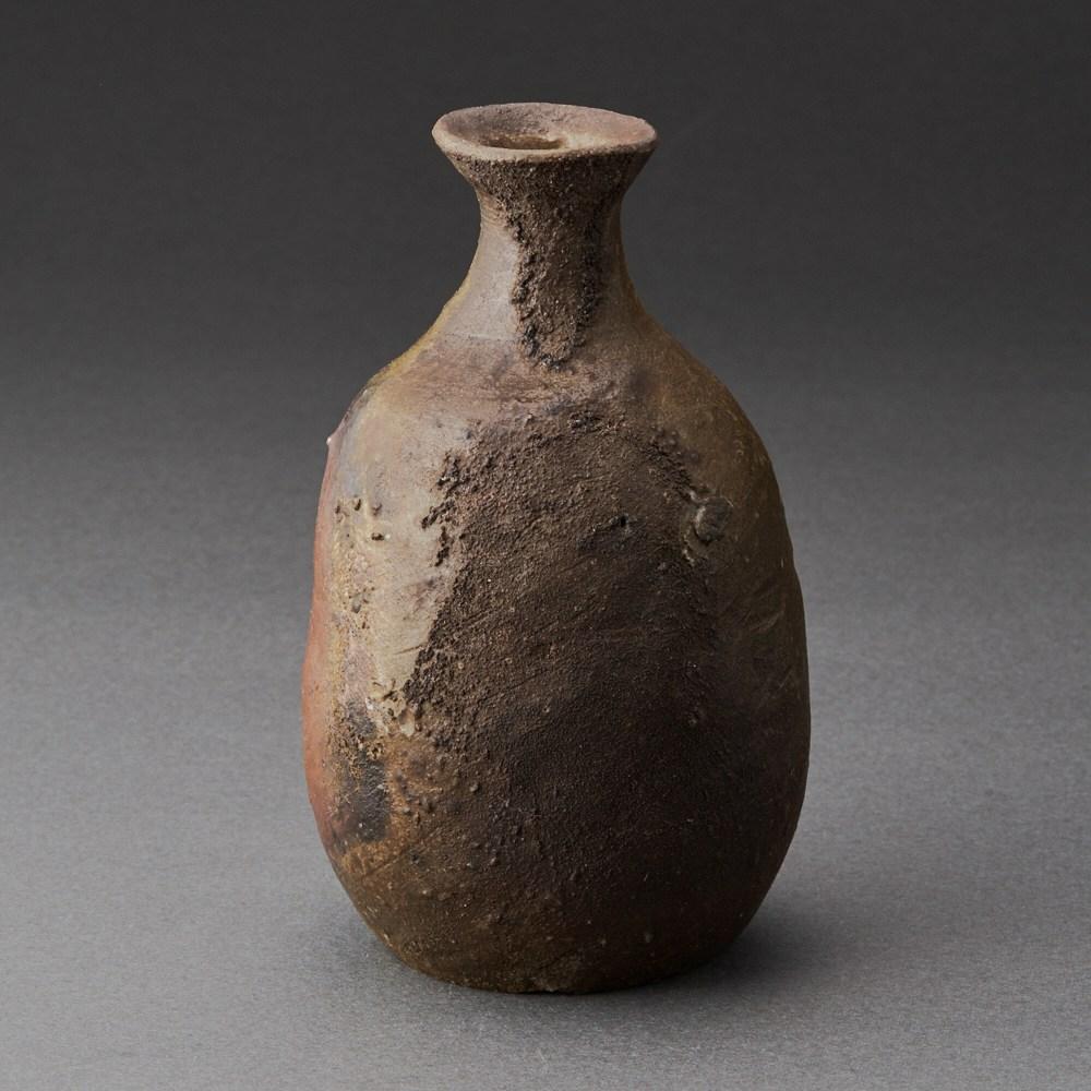 備前徳利(小出尚永)Bizen Sake Bottle(Naoe Koide)