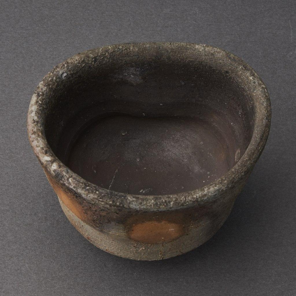 備前ぐい呑(金重多門)Bizen Sake Cup(Tamon Kaneshige)