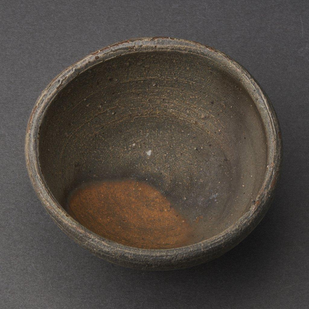 備前盃(金重多門)Bizen Sake Cup(Tamon Kaneshige)