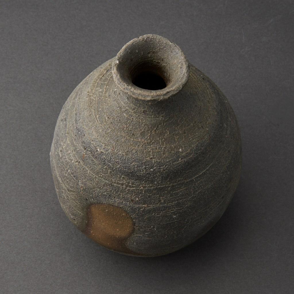備前徳利(金重多門)Bizen Sake Bottle(Tamon Kaneshige)