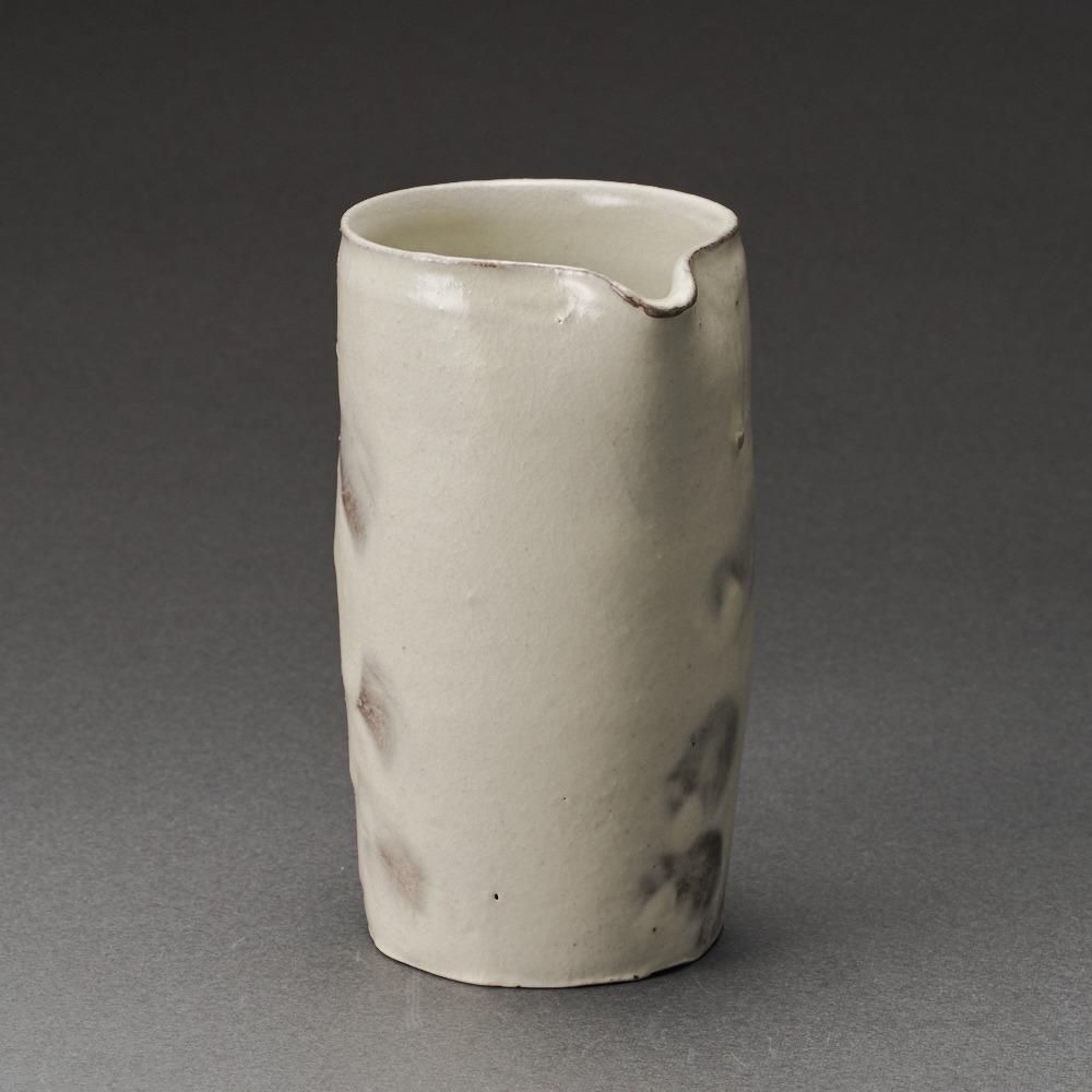 粉引片口(鈴木大弓)Kohiki Sake Carafe(Hiroyumi Suzuki)