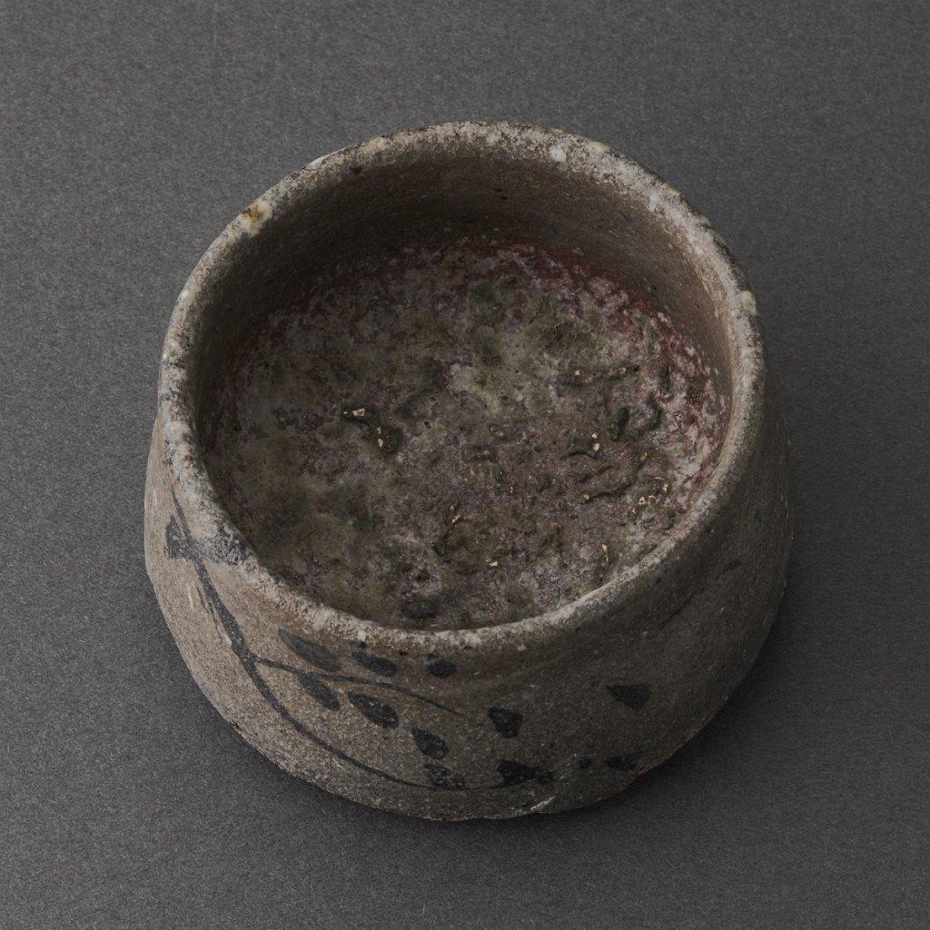 絵唐津ぐい呑(丸田雄)Karatsu Sake Cup(Yu Maruta)