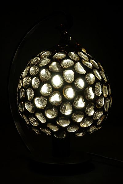 【天然石】水晶のランプ