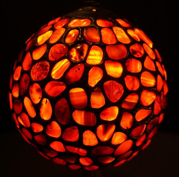【天然石】カーネリアンのランプ