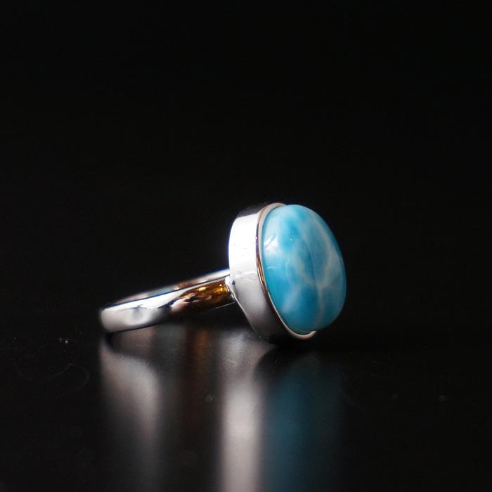 ラリマーの指輪