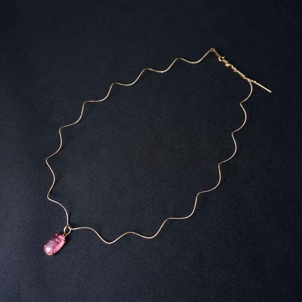 【18Kネックレス】インカローズのネックレス