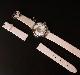 カメオ イタリアーノの腕時計 ピンク革ベルト 専用ケース付き