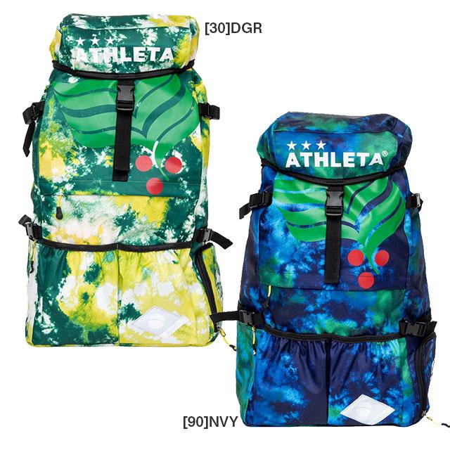 サッカーバッグ アスレタ ATHLETA  カフェブラ バックパック リュックサック 35L 05253 Lサイズ 通学 部活 合宿 遠征