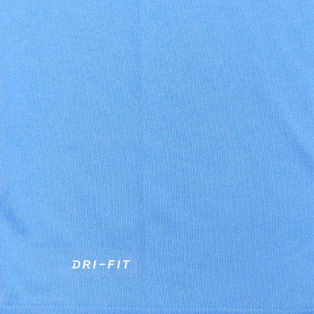 【セール】ナイキ NIKE ジュニア Tシャツ 半袖 吸汗速乾 ドライフィット 運動 トレーニング YTH レッグスウッシュ Tシャツ AR5307-412 子供 水色 特価