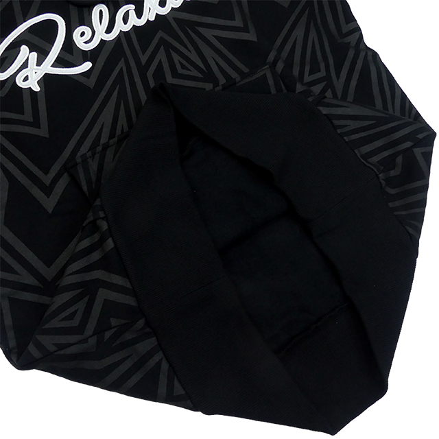 リラクシャー RELAXAR ダウポンチ dalponte 裏起毛 スウェット パーカー DPZ-RX135 プルオーバー フード 総柄 カジュアルウェア 男女兼用