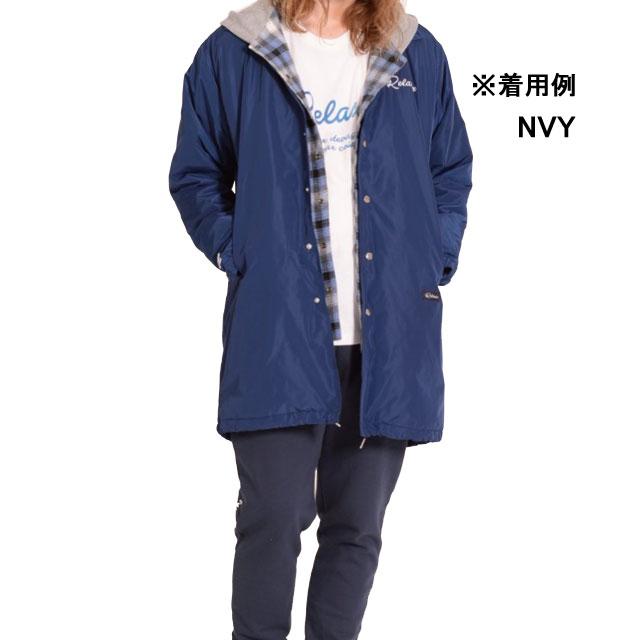ダウポンチ dalponte ロングコーチジャケット DPZRX114 カジュアルウェア 裏ボア ロングコート
