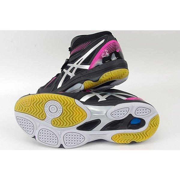 アシックス ASICS コート セルフィット ブラック×シルバー TVR486-9093 バレーボールシューズ バレー 靴