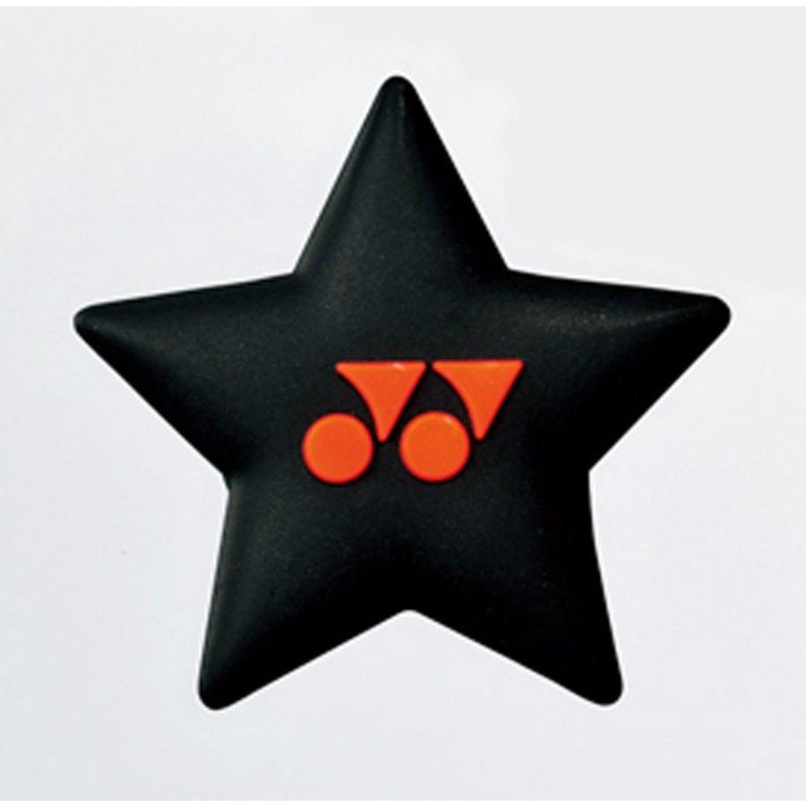 ヨネックス YONEX バイブレーションストッパー6(1個入) AC166 401 ブラック/オレンジ