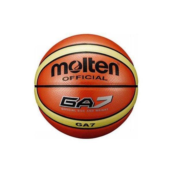 名入れ無料 モルテン バスケットボール メンズ 人工皮革 オレンジ GA7 BGA7 7号 タイ製