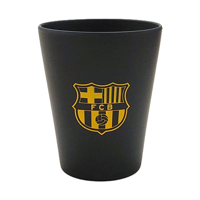 FCバルセロナ バンブータンブラー コップ ブラック BCN34177 リーガエスパニョーラ スペイン オフィシャルグッズ エコ素材