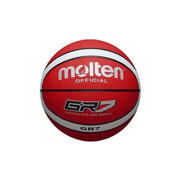 モルテン メンズ バスケットボール ゴム GR7 BGR7RW 7号 レッド タイ製 中国製