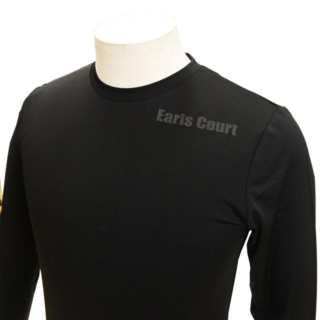 クルーネック インナーシャツ 長袖 アールズコート Earls Court EC-03