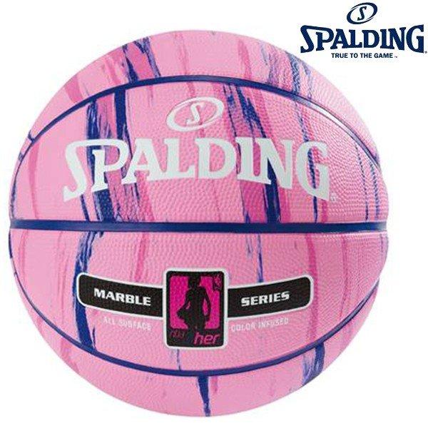 スポルティング SPALDING マーブル フォーハー 83-877Z バスケットボール ラバー 6号球