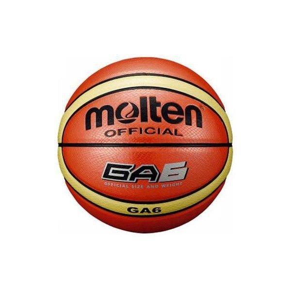 モルテン バスケットボール ウィメンズ 人工皮革 オレンジ GA6 BGA6 6号 タイ製