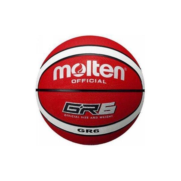 モルテン ウィメンズ バスケットボール ゴム GR6 BGR6RW 6号 レッド タイ製 中国製