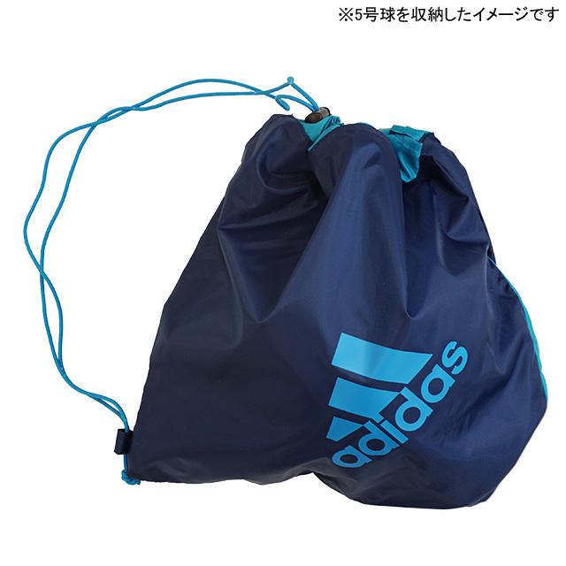 アディダス adidas ボールバッグ 1個入れ AKM18 サッカーボール フットサルボール 38×40×15cm 練習通い