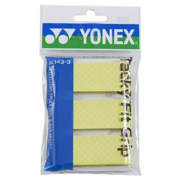 ヨネックス YONEX タッキーフィットグリップ AC1433 557 フラッシュイエロー