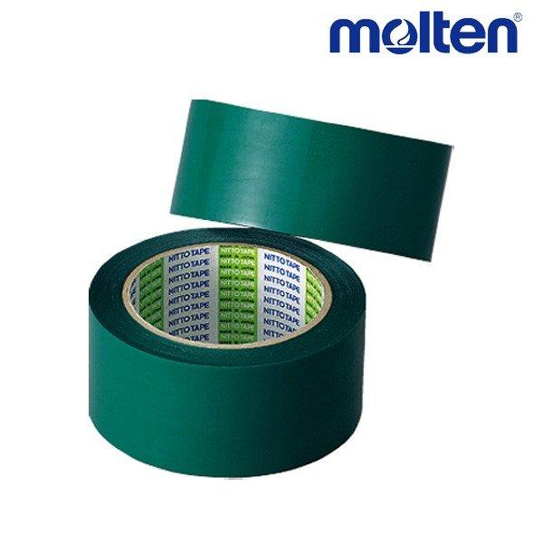モルテン molten ポリラインテープ PT5G バレーボール アクセサリー 幅50mm×長さ50m 2巻入り グリーン