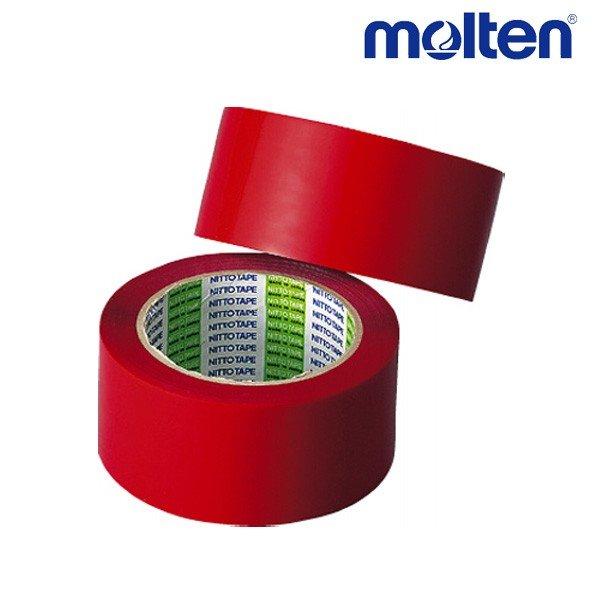 モルテン molten ポリラインテープ PT5R バレーボール アクセサリー 幅50mm×長さ50m 2巻入り レッド