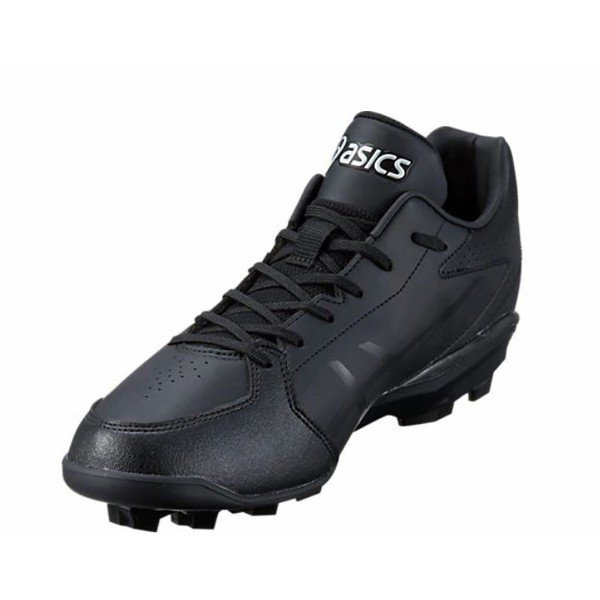 アシックス asics 一般 軟式 野球 ポイントスパイク スターシャイン2 1121A012-001ブラック 黒