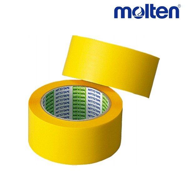 モルテン molten ポリラインテープ PT5Y バレーボール アクセサリー 幅50mm×長さ50m 2巻入り イエロー