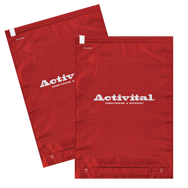アクティバイタル Activital 2秒で圧縮袋 2枚セット 4785 衣類圧縮 旅行 遠征