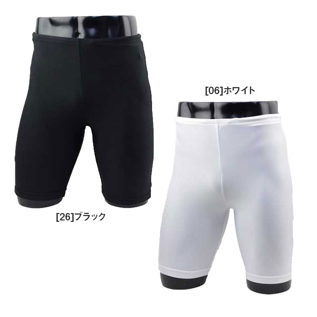 【ジュニア】 ショートスパッツ フタバスポーツオリジナル 無地 インナータイツ TF012J
