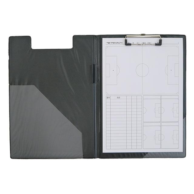 サッカー 記録用紙つき バインダー PENALTY ペナルティ PE9410